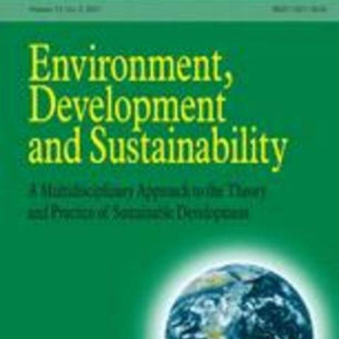 Cover of Environment, Development & Sustainability, Vol. 5, Issue 1-2, March 2003